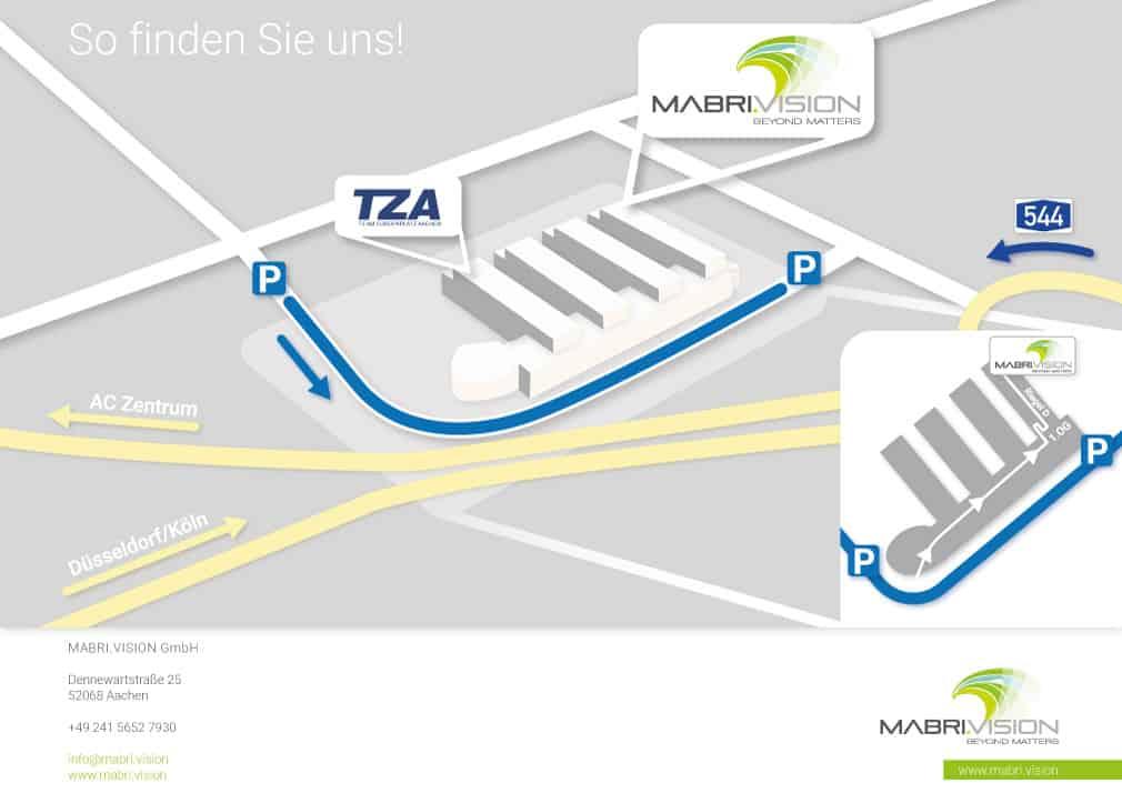 So finden Sie uns! MABRI.VISION GmbH