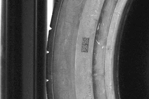 QR/Datamatrix-Lesebrücke für Reifen