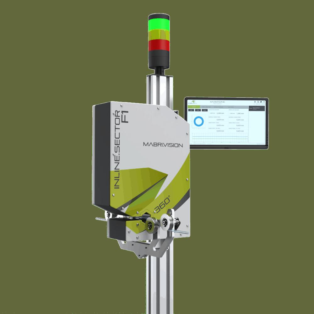 Inline Messtechnik für Silikonschläuche