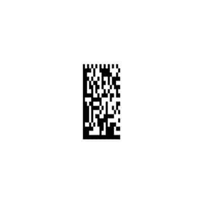 QR-Qualitätsparameter ISO-IEC15415-416-Axialungleichheit